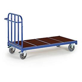 Plateauwagen, 2040 x 880 mm, draagvermogen 1.200 kg