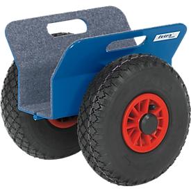Platenroller, 300 x 305 x 300 mm, 0-60 mm, banden van massief rubber