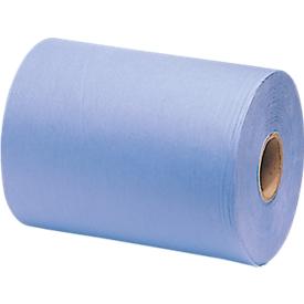 Poestpapier allround poetsdoek extra absorberend, 1-laags, blauw
