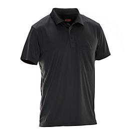 Polo Jobman 5533 PRACTICAL Spun Dye, SE 12-141, negro, M