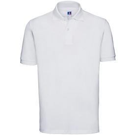 Polo-Shirt, Weiß, M, Auswahl Werbeanbringung erforderlich
