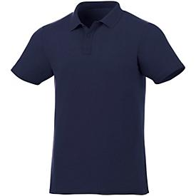 Poloshirt für Herren, Navy, S, Auswahl Werbeanbringung erforderlich