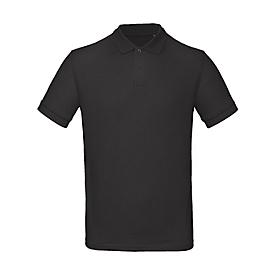 Poloshirt, Herren, Schwarz, L, Auswahl Werbeanbringung optional
