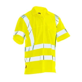 Poloshirt met hoge zichtbarheid Jobman 5583 PRACTICAL Spun Dye Hi-Vis, EN ISO 20471 klasse 3, PPE 2, geel, maat XL