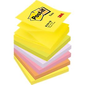 POST-IT Haftnotizen Z-Notes R 330 NR, neonfarben