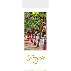 Postkartenkalender Lebensfreude, B 120 x H 340 mm, Werbedruck 100 x 45 mm, Auswahl Werbeanbringung erforderlich