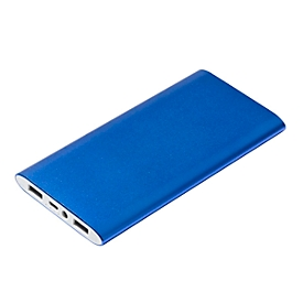 Powerbank, Blau, Standard, Auswahl Werbeanbringung optional