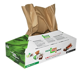 Práctica caja de papel de embalaje
