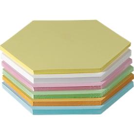Presentatiekaartjes, gelamineerd, randlengte 95 mm, 250 st., diverse kleuren