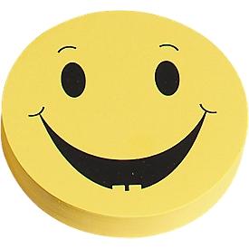 Presentatiekaartjes, scoresymbool, positief, Ø 93 mm, 100 stuks, geel