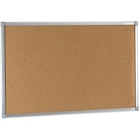 Prikbord EARTH-IT, kurk, aluminium frame, 600 x 450 mm