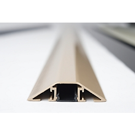 Puente pasacables de aluminio, L 1500mm, beis