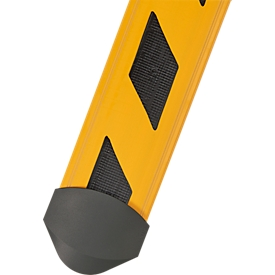 Puentes de cable B15 CB Compact, 1500 mm, rayas amarillas/negras