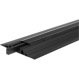 Puentes pasacables EHA Vario, barra central extraíble, para interior y exterior, L 1000mm, negro
