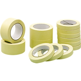 Qualitäts-Abdeckband aus Papier, B 19 mm, 16 Rollen