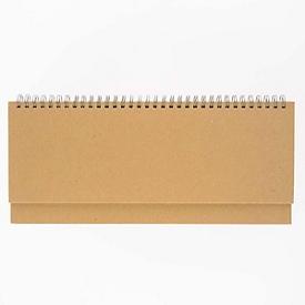 Querkalender Nature, m. Spiralbindung, 128 Seiten, B 298 x T 105 x H 10, Werbedruck 270 x 20 mm, Auswahl Werbeanbringung optional
