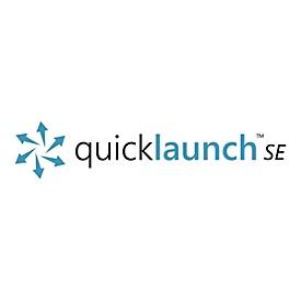 Quicklaunch Standard Edition (v. 4.0) - Lizenz + 3 Jahre Wartung & Support - 1 PC