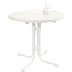 Quickstep tafel, bestand tegen desinfecterende middelen, ø 700 mm