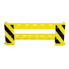 Rammschutz-Planken mit Rammschutzecken, variabel 1000-1150 mm