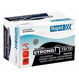 Rapid SuperStrong nietjes 73/12, niet 40 tot 70 vellen, 5000 stuks