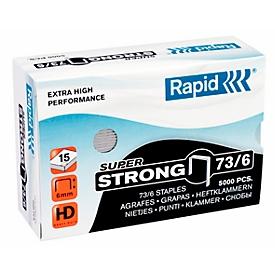 Rapid SuperStrong nietjes 73/6, niet tot 15 vellen, 5000 stuks