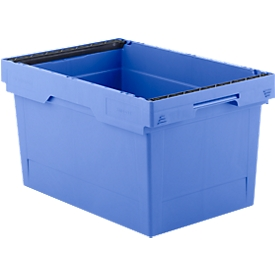 Recipiente reutilizable KONISCHE KMB B632, con asa, 56l