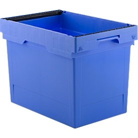 Recipiente reutilizable KONISCHE KMB B642, con asa, 72l