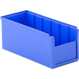 Regalkasten RK 300 H, 6 Fächer, blau