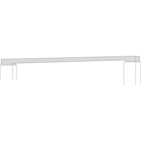Regalverbinder, für Variabo Freiarmregal