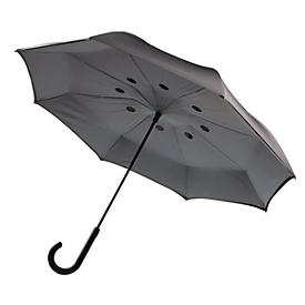 Regenschirm, Grau, Standard, Auswahl Werbeanbringung erforderlich