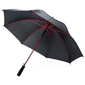 Regenschirm, Rot, Standard, Auswahl Werbeanbringung erforderlich