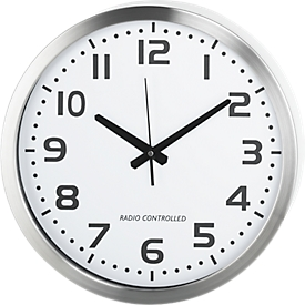 Reloj de pared de cuarzo, blanco
