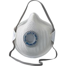 Respirador FFP 2 NR D, con válvula climática