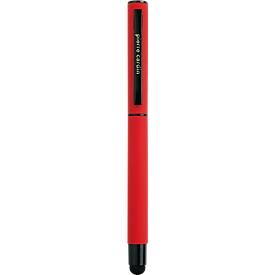 Rollerball Celebration, auch als Touch Pen für Smartphones & Tablets geeignet, rot