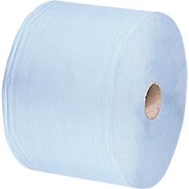 Rollo de toallitas grande Saugblitz, azul claro