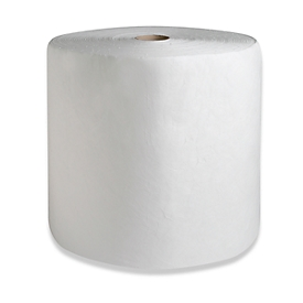 Rollos de fieltro aglutinante FIRST, 166 l, 1 capa, 2 ruedas, blanco