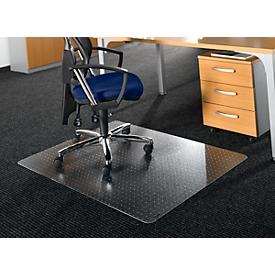 Rollsafe® bureaustoelmat, rechthoekig 1200 x 900 mm