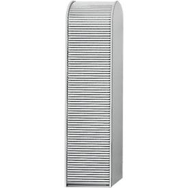 Rolluik voor universele kast, aluminium zilver