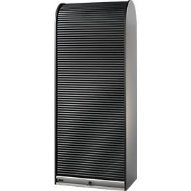 Romp archiefkast B 800 x D 500 x H 2020 mm, zwart