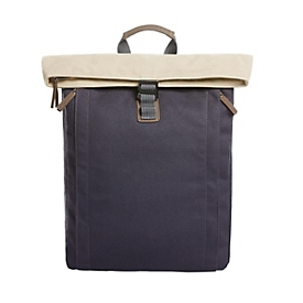 Rucksack, Beige/Blau, Standard, Auswahl Werbeanbringung erforderlich