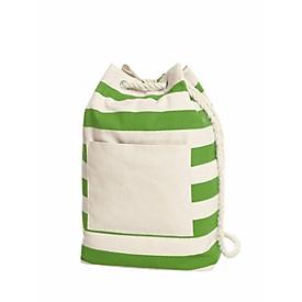 Rucksack, Hellgrün, Standard, Auswahl Werbeanbringung erforderlich