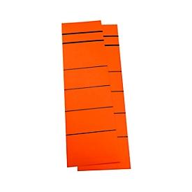 Rückenschild, Rückenbreite 60 mm, selbstklebend, 10 Stück, rot
