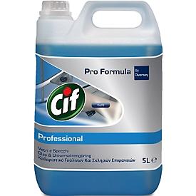 Ruiten- en allesreiniger Professional Cif, jerrycan van 5 liter