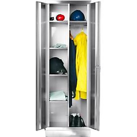Rvs lockers B 600 mm fitting