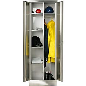 Rvs lockers B 800 mm, Poten: