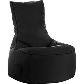 Saco de asiento swing scuba®, 100% poliéster, lavable, An 650 x P 900 x Al 950mm, negro