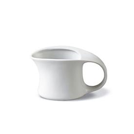 Sahnegießer ADRINA, uni-weiß, Fassungsvolumen 0,15 l