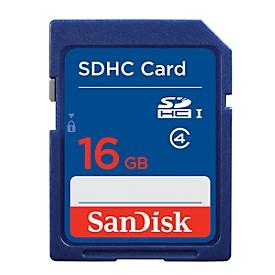 SanDisk SDHC, SDSDB-016G-B35 Memory Card, 16 GB