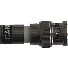 Santec HD-SDI BNC plug BNC-HD-CCTV / 10, adecuado para el cable coaxial, 10 piezas