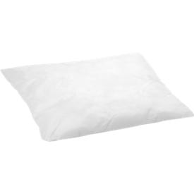 Saugkissen, besonders ölbindend, B 250 x L 250 mm, für 62,4 l, 25 Stück, weiß